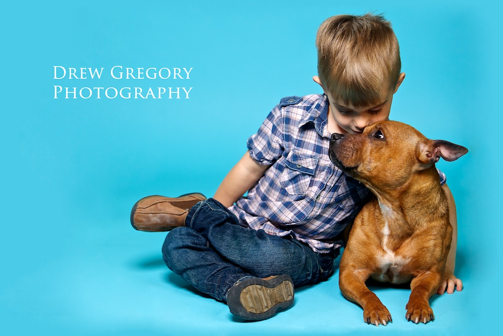 A boy and his dog, Calgary portrait photographer, Calgary fashion photographer