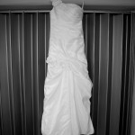 Destination wedding photographer | barcelo maya tropical resort Mexico | wedding photos | Hanging brides dress
