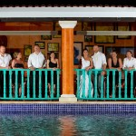 Destination wedding photographer | barcelo maya tropical resort Mexico | wedding photos | bridal party