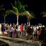 Destination wedding photographer | barcelo maya tropical resort Mexico | wedding photos | reception on the beach