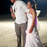 Destination wedding photographer | barcelo maya tropical resort Mexico | wedding photos | bride and groom speech
