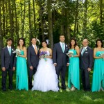 Calgary wedding photographer | Fish Creek Park wedding photos | Bridal party