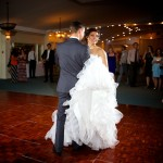 Calgary wedding photographer | Spruce Meadows wedding photos | Bride and groom first dance